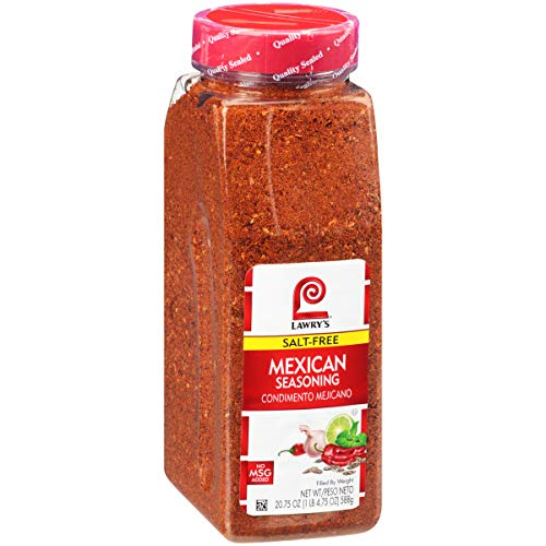 Lawry's Salt Free Mexican Seasoning, 20.75 oz