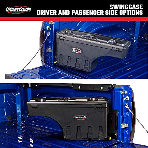 Undercover SwingCase Truck Bed Storage Box   SC400D   Fits 07-20 Toyota Tundra Drivers Side