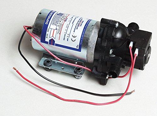Pentair SHURflo 2088-343-135 Automatic-Demand Diaphragm Pump, 3.0 GPM With Viton Valves, Santoprene Diaphragm, 40 PSI Demand Switch, 12V, 1/2' MSPT Male Port