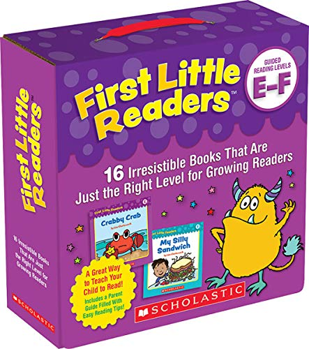 Scholastic First Little Readers Parent Pack: Guided Reading Levels E & F