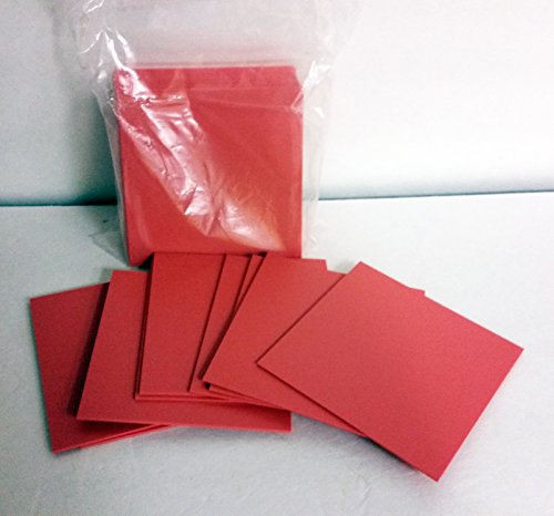 Keystone 9616230 Pro-Form Base Plate Material .080 (2mm) 5' x 5' Red in Color 25/pk