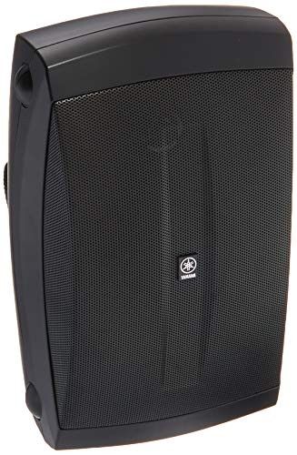 Yamaha NS-AW150BL 2-Way Indoor/Outdoor Speakers (Pair, Black) - Wired
