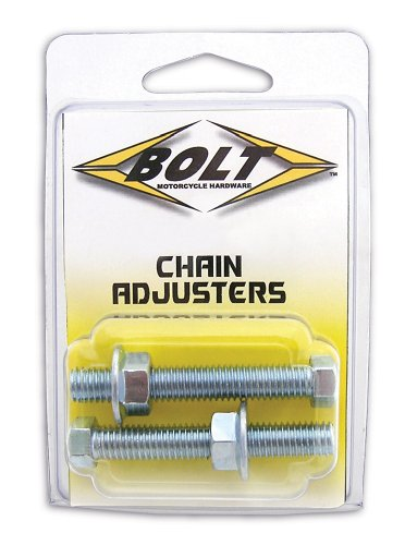 Bolt Motorcycle Hardware (2006-CH) Chain Adjuster Nut and Bolt Assembly