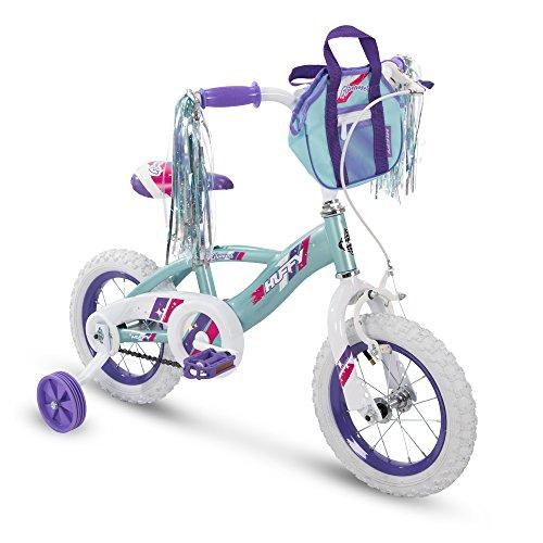 Huffy 12' Glimmer Girls Bike, Sea Crystal