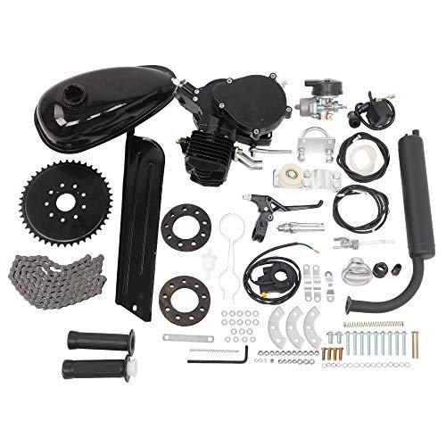 KABOCHO 26' 28' Bicycle Motor Kit 80cc 2-Stroke Bike Gasoline Motorized Gas Engine Bike Motor Complete Kit(Black)