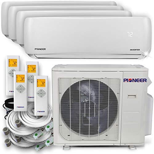 PIONEER Air Conditioner Pioneer Multi Split Heat Pump, Quad (4 Zone)