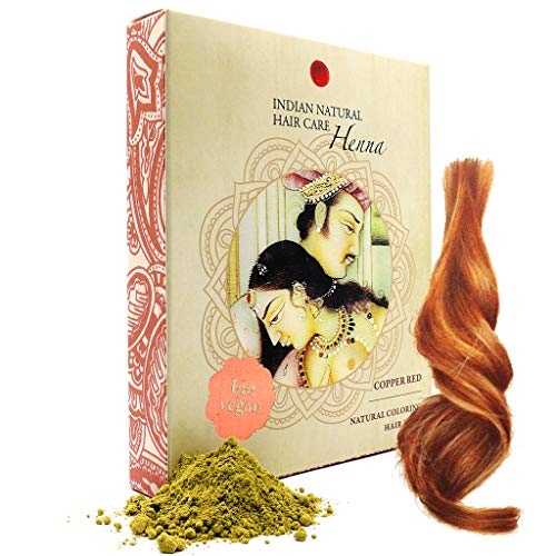 Henna Powder - Red Hair Dye - Fresh and Pure Organic - 7 ounce - Indian Natural Hair Care