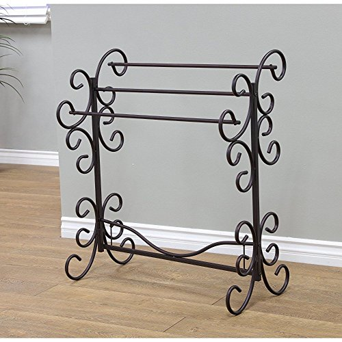 Frenchi Home Furnishing Blanket Rack, 35.5' H