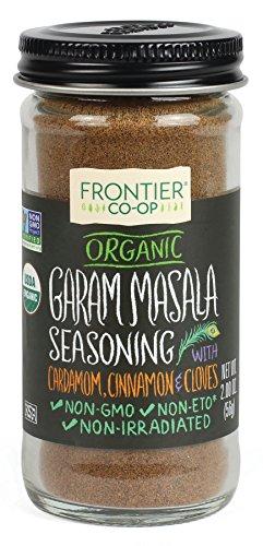 Frontier Garam Masala Certified Organic Seasoning Blend, 2 Ounce