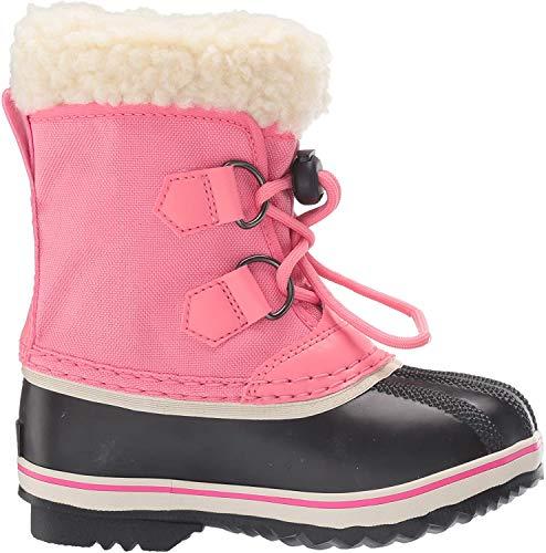 Sorel Yoot PAC Nylon Boot - Little Girls' Lollipop/Pink Glo, 13.0