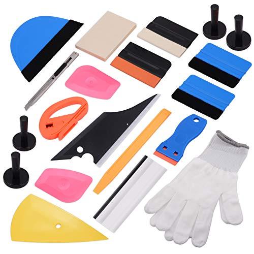 EHDIS 15 Kinds of Car Vinyl Wrap Tool Window Tint Kit for Auto Film Tinting Scraper Application Installation