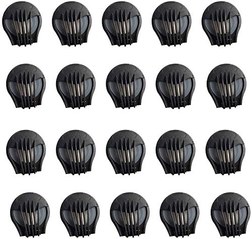 Anti Pollution Face Cover Air Breathing Valves,Durable ABS Mask Accessories,for Most Kind of Double Air Breathing Valve Mask Valves Filter Accessories (20pcs)
