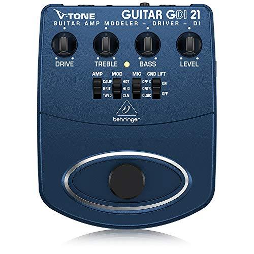 Behringer V-Tone Guitar Driver DI GDI21 Amp Modeler/Direct Recording Preamp/DI Box