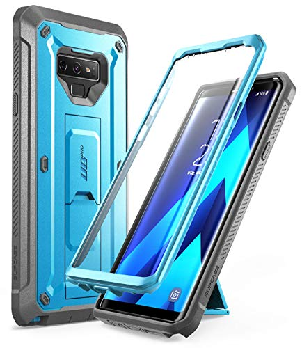 SUPCASE Unicorn Beetle PRO Series Phone Case for Samsung Galaxy Note 9, Full-Body Rugged Holster Case with Built-in SP for Samsung Galaxy Note 9 2018 (Blue)
