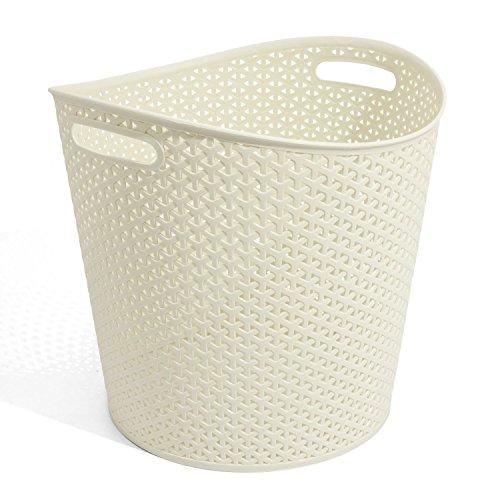 Curver My Style 00715885: Laundry Basket, 30Litre, Cream