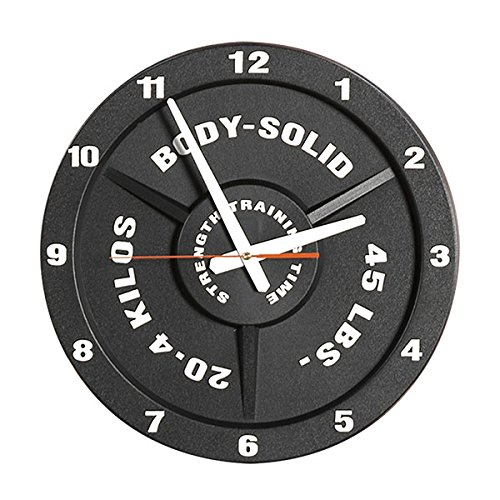 Body-Solid Weight Plate Wall Clock