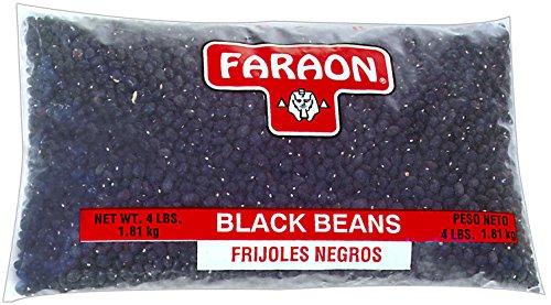 FARAON Black Beans, 4 Pound