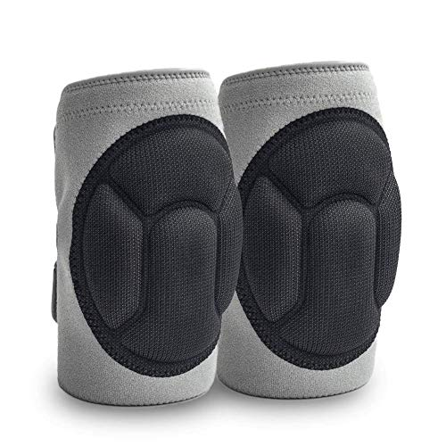 JYSW Gardening Knee Pads, Knee Protectors Home Protective Cushion with Lightweight EVA Foam Cushion, Soft Inner Liner, Easy Fit with Adjustable Straps for Cleaning Work Scrubbing Floors Pruning (XL)