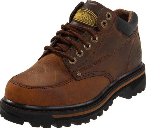Skechers Men's Mariner Low Boot,Dark Brown,10 M US