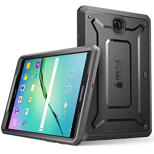 SUPCASE Funda para Samsung Galaxy Tab S2 8' [Unicorn Beetle Pro Serie] con protector de Pantalla Negro