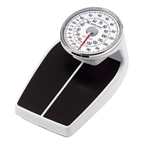 Health O Meter 160KLS Mechanical Floor Scale, 400 lb. Capacity, 12-1/2' x 11' x 3' Platform