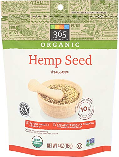 365 Everyday Value, Organic Hulled Hemp Seed, 4 oz
