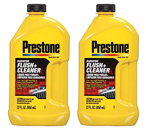 Prestone AS105 Radiator Flush and Cleaner - 22 oz. - 2 Pack