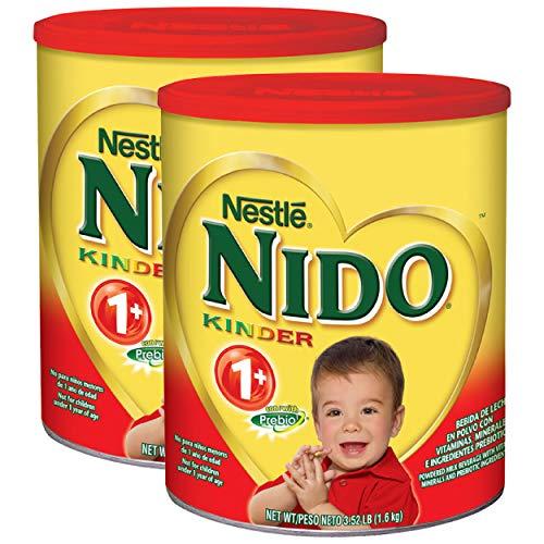Nestlé NIDO Kinder 1+ Powdered Milk Beverage, 56.32 oz, Pack of 2