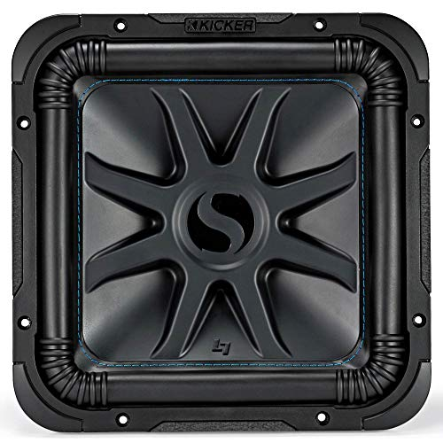 Kicker Solo-Baric L7S 1500W 12' 4 Ohm DVC Sealed or Ported Square Subwoofer
