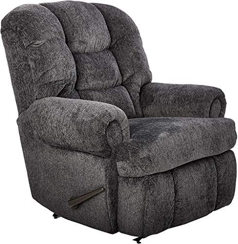 Lane Stallion Big Man(Extra Large) Comfort King Wallsaver Recliner in Blue Depths(Grey Blue). Made for The Big Guy Or Gal. Rated for Up to 500 Lbs. Extended Length. 79'. Seat Width. 25'. 4501L