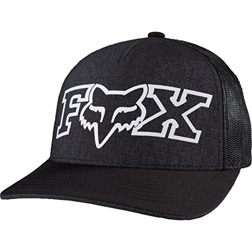 Fox Racing Womens Remained Trucker Adjustable Hat One Size Heather Black