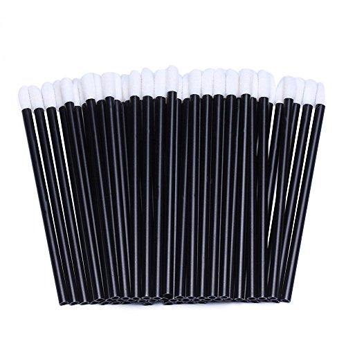 200pcs Disposable Lip Brush Lip Gloss Applicators Lipstick Wands Tool Kits (200)