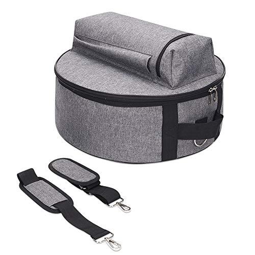 14 Inch Snare Drum Bag, Drum Gig Bag Backpack With Carry Handles, Shoulder Straps and Outside Pockets, Great Drum Set Bag Cases Covers for Dustproof, Storage And Transport