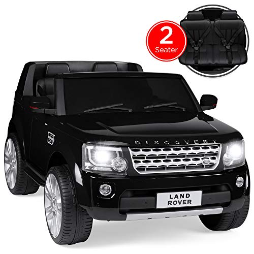 Best Choice Products 12V 3.7 MPH 2-Seater Licensed Land Rover Ride On w/ Parent Remote Control, MP3 Player - Black
