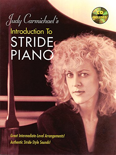 Judy Carmichael's Introduction to Stride Piano: Book & CD (Ekay Edition)