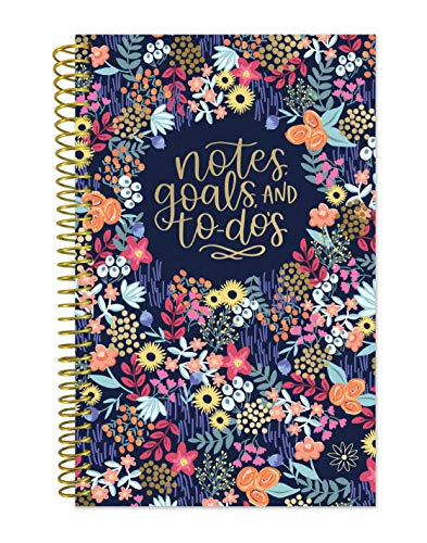 bloom daily planners Bound to-Do List Book - UNDATED Daily Planning System Tear Off Calendar Pages - 6' x 8.25' - Floral Dots