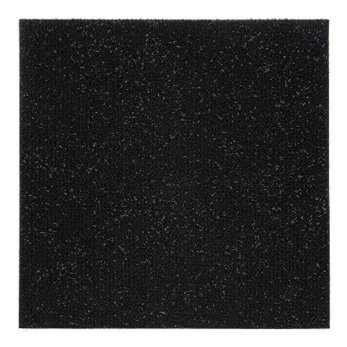 Achim Home Furnishings NXCRPTJT12 Nexus Jet 12 inch x 12 inch Self Adhesive Carpet Floor Tile, 12 Tiles/12 Sq Count