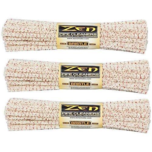 Zen Bundles Zen Pipe Cleaners Hard Bristle, 132 Count