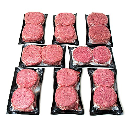 Angus Wagyu Ground Beef Patties By Nebraska Star Beef - The Ultra Premium Package for Family Grilling Events - No Hormones & No Antibiotics
