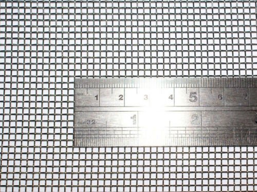 Woven Wire 10 Mesh 24'X 40' 60cm X100cm Size 2mm Hole 0.6mm Wire Heavy Stainless Steel 304L 61% Open Area