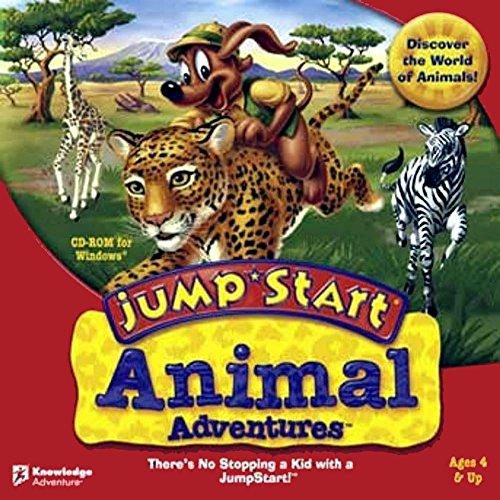 Knowledge Adventure L5JSANIMAJ JumpStart Animal Adventures