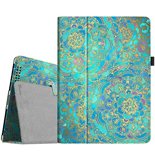 Fintie Folio Case for iPad 2 3 4 (Old Model) - Slim Fit Smart Stand Protective Cover Auto Sleep/Wake for iPad 2, iPad 3rd gen & iPad 4th Generation with Retina Display, Shades of Blue