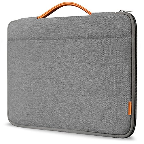 Inateck 13-13.3 Inch Laptop Sleeve Case Briefcase Cover Protective Bag Ultrabook Netbook Carrying Protector Handbag Compatible 13' MacBook Air/MacBook Pro(Retina)2012-2015, 2019/2018/2017/2016, Gray