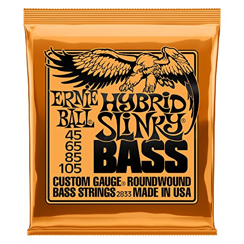Ernie Ball Hybrid Slinky Nickel Wound Bass Set, .045 - .105