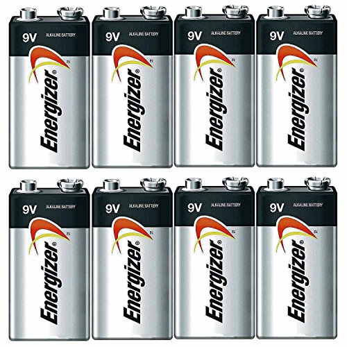 Energizer E522 Max 9V Alkaline battery - 8 Count