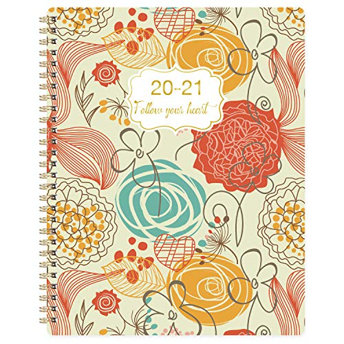2020-2021 Planner - Jul. 2020 - Jun. 2021 Weekly Planner with Flexible Cover, 7.65'' x 9.85'', Strong Twin - Wire Binding, to-Do List, Check Boxes, Get Your Life Organized Here